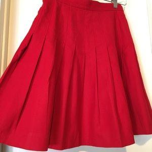 Dresses & Skirts - Vintage Wool Pleated Skirt